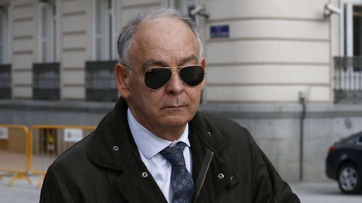 Eugenio Pino, en la Audiencia Nacional.
