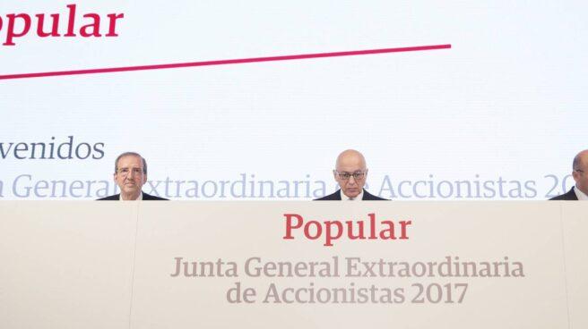 Junta de accionistas del Banco Popular.