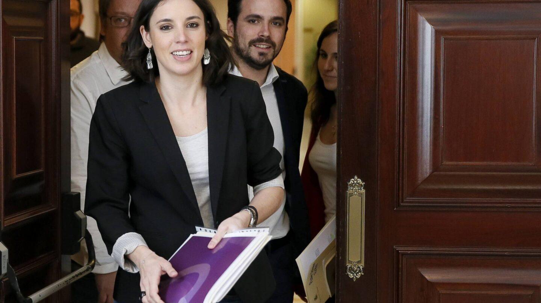 Irene Montero, portavoz de Unidos Podemos, preguntará por el CNI el próximo miércoles.