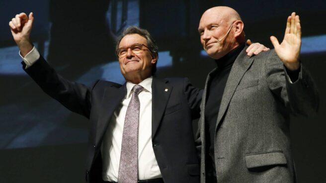 Artur Mas y Juan José Ibarretxe.