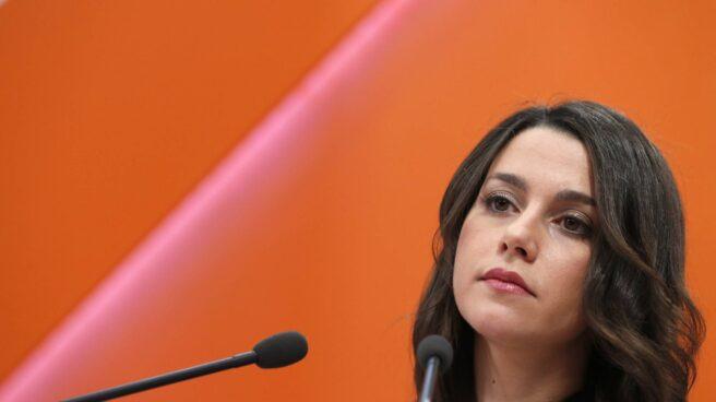 La portavoz nacional de Ciudadanos, Inés Arrimadas