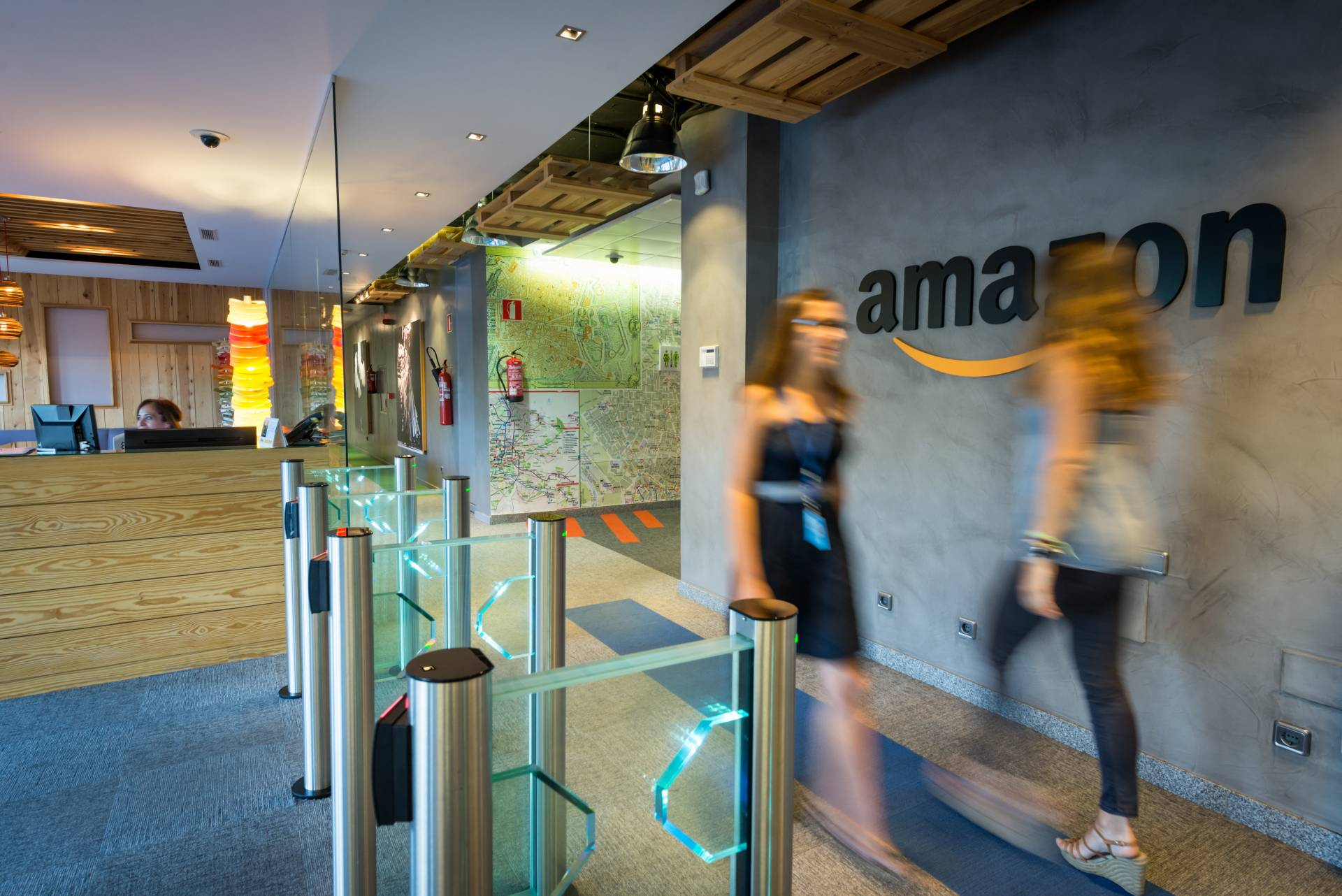 amazon españa oficinas centrales en madrid