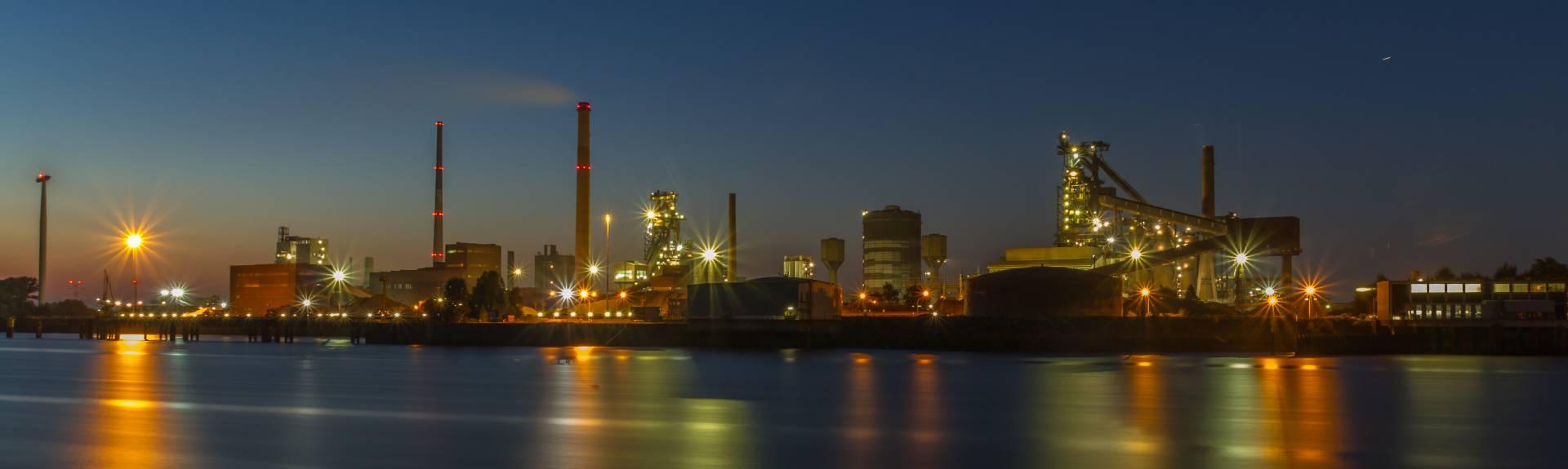 Instalaciones de ArcelorMittal en Bremen (Alemania).