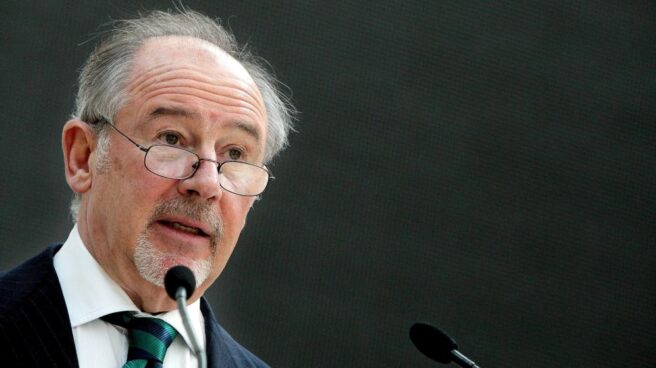 El ex presidente de Bankia, Rodrigo Rato, en una intervención pública.