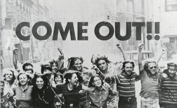 Detalle del cartel de Peter Hujar para el Frente de Liberación Gay