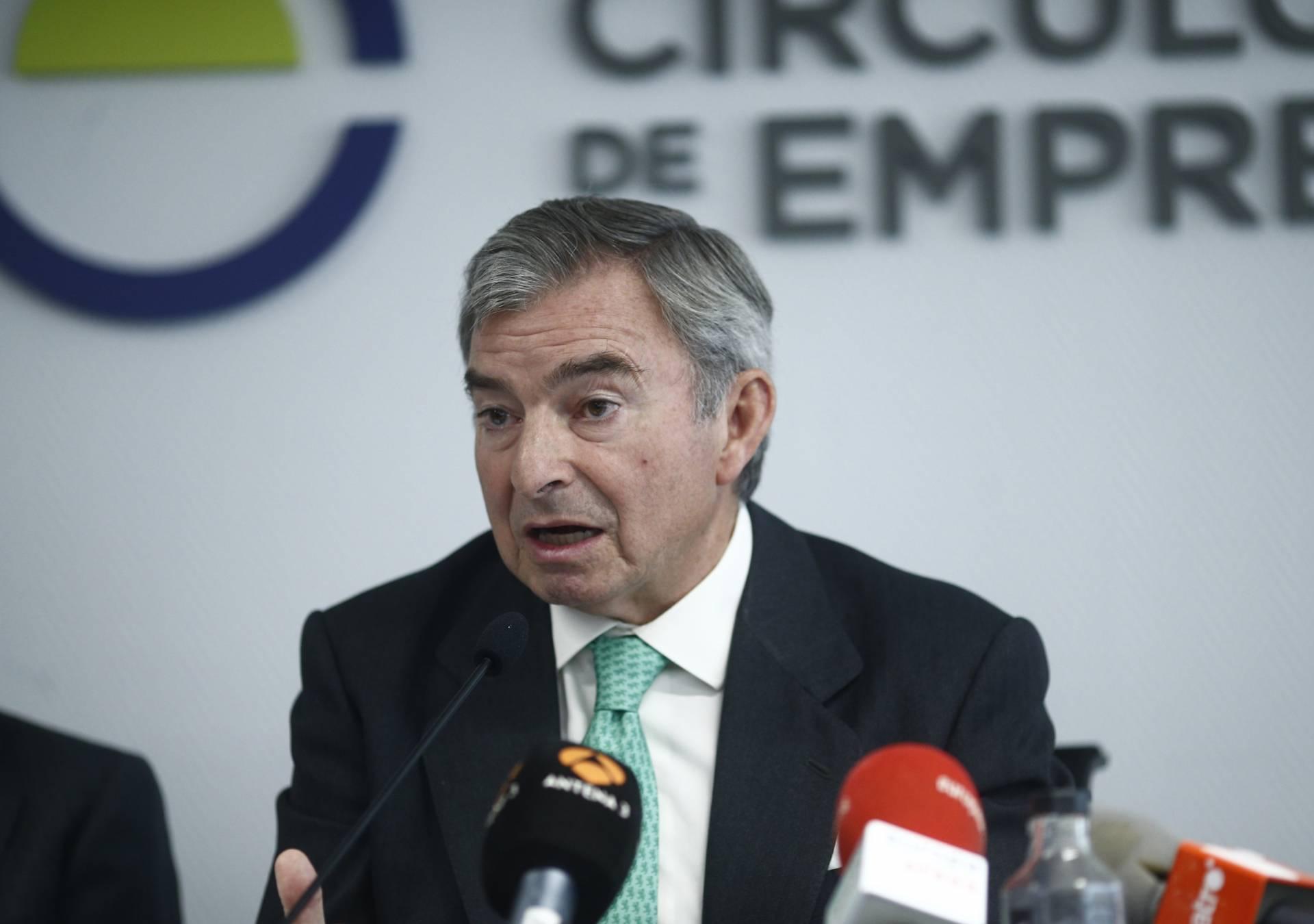 El presidente del Círculo de Empresarios, Javier Vega de Seoane.