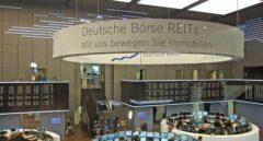 Interior de la Bolsa de Fráncfort.