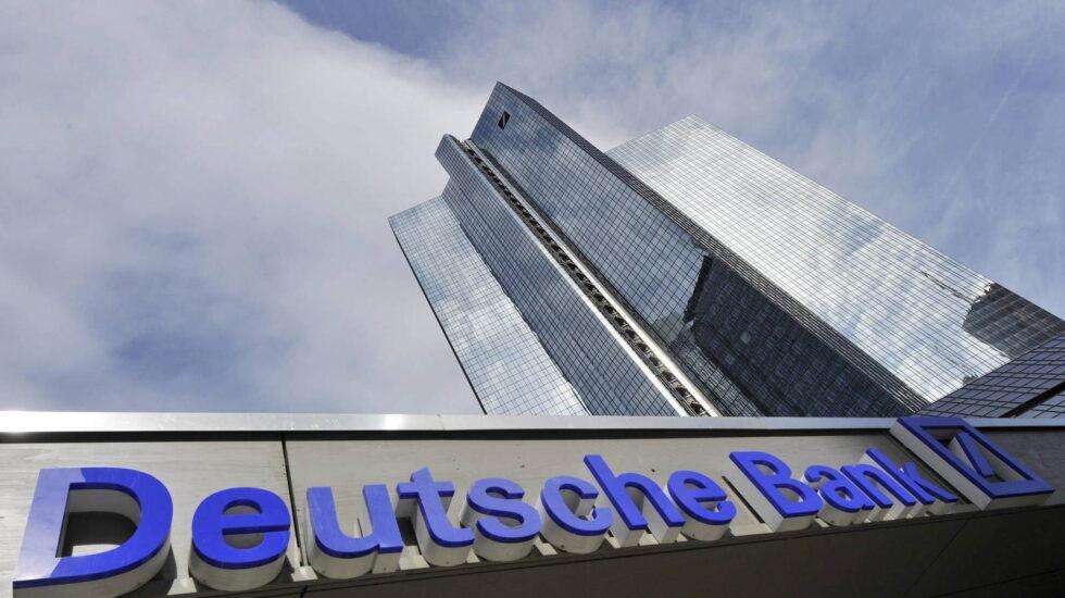 Sede de Deutsche Bank, en Fráncfort (Alemania).