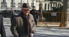 El comisario ya jubilado Marcelino Martín-Blas, tras declarar como testigo en la Audiencia Nacional.