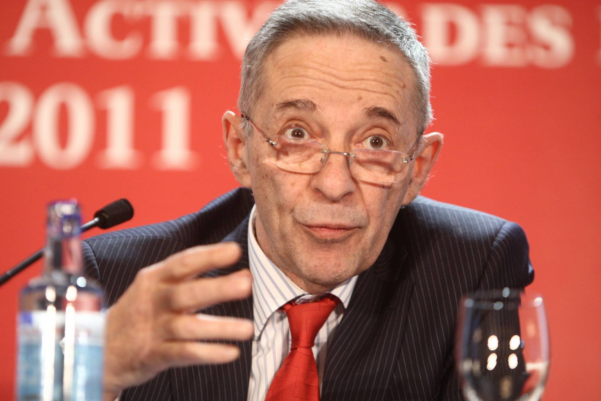 Julio Segura, expresidente de la CNMV.