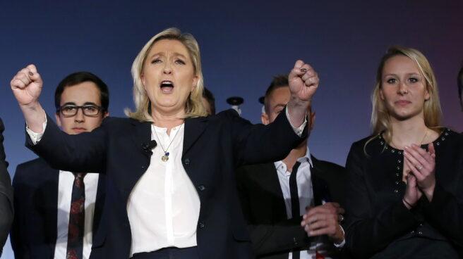 Marine Le Pen, candidata del Frente Nacional a la presidencia de Francia.