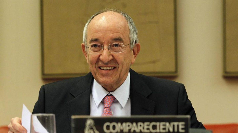 El ex gobernador del Banco de España, Miguel Ángel Fernández Ordóñez, en el Congreso.