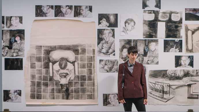 Mariana Roman y sus dibujos