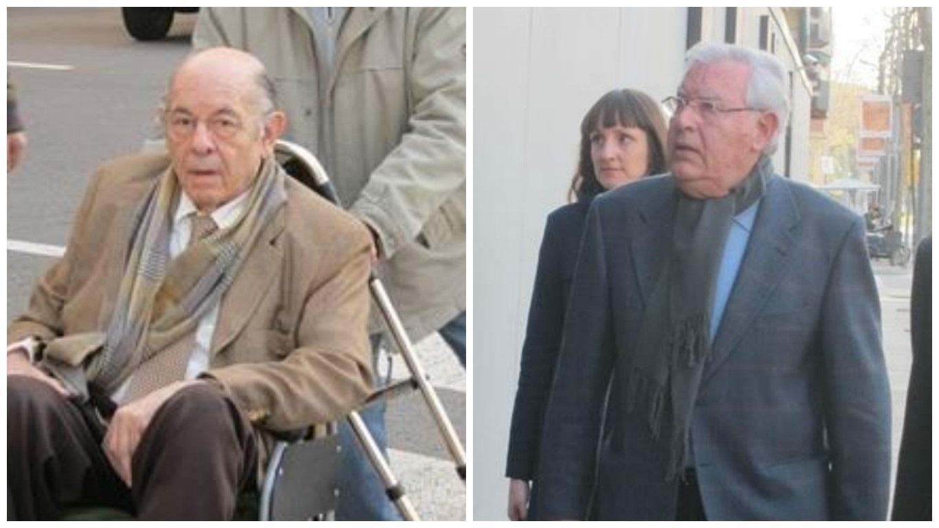 Los principales acusados del caso, Félix Millet y Jordi Montull.