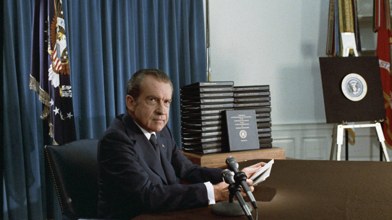 El ex presidente de EEUU Richard Milhous Nixon.