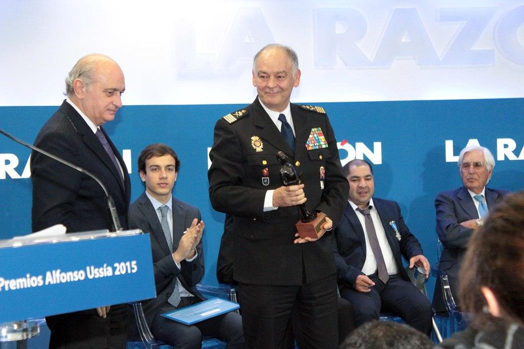 Eugenio Pino, ex número dos de la Policía en un acto oficial.