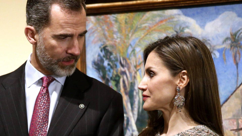 Los Reyes de España, Felipe y Letizia.