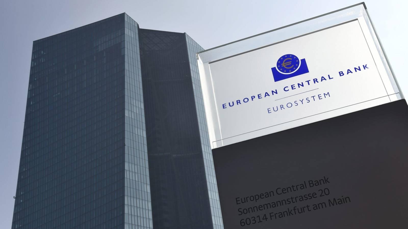 Edificio de la sede central del BCE, en Fráncfort (Alemania).