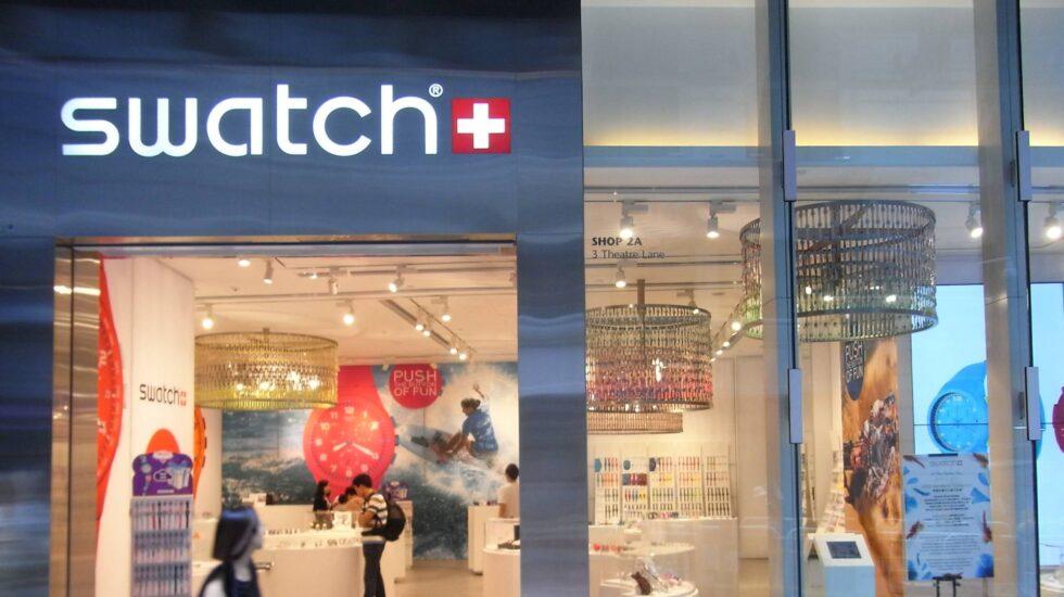 Tienda del fabricante de relojes Swatch.