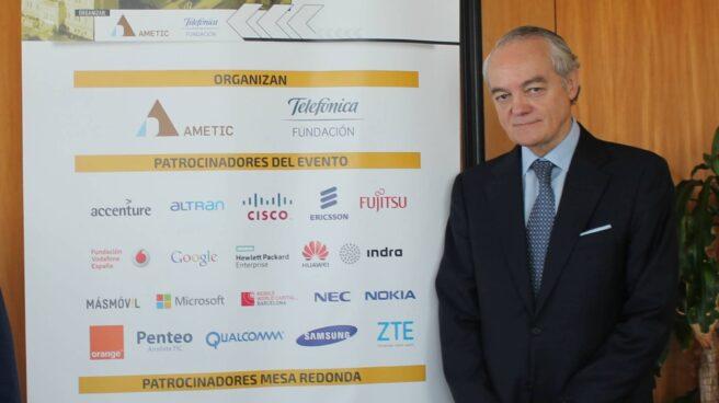 José Manuel de la Riva, presidente interino de Ametic.