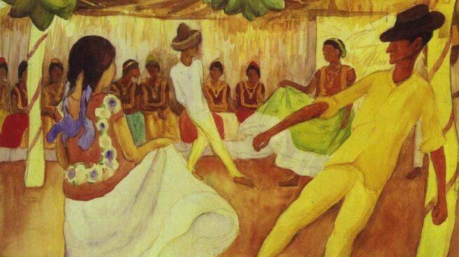 'Baile en Tehauntepec', de Diego Rivera.