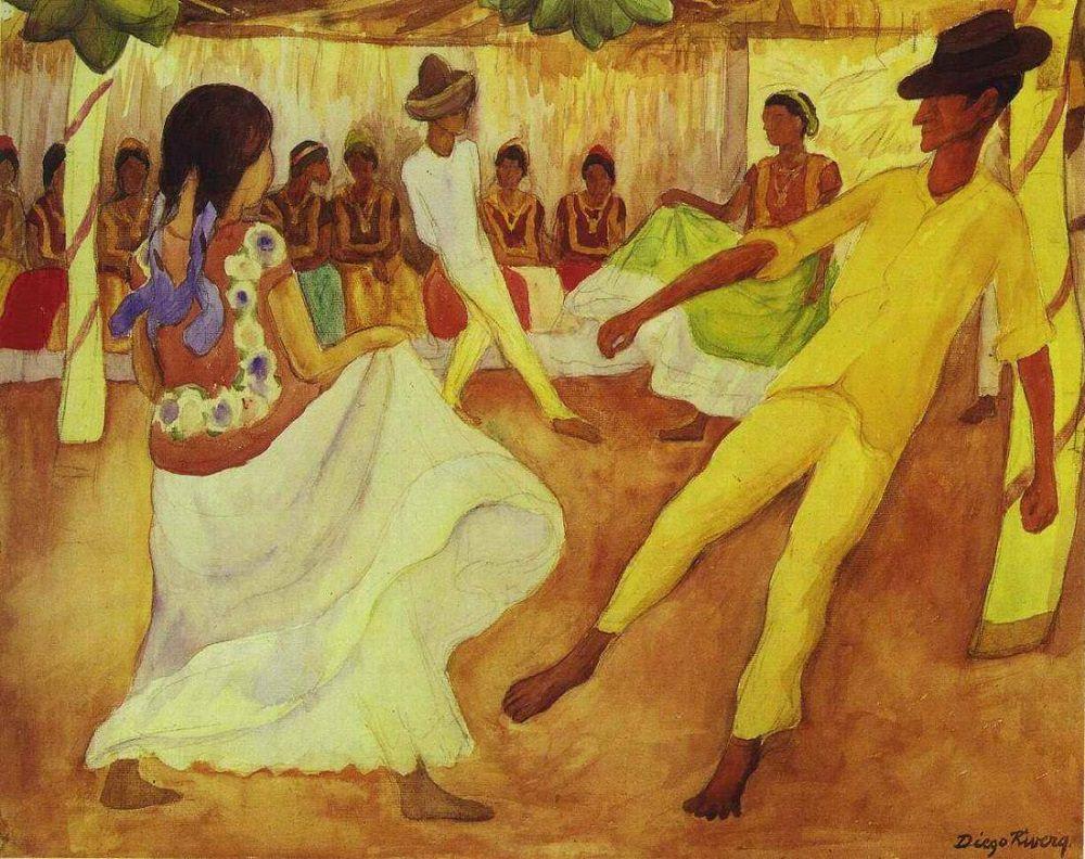 Diego Rivera, color de México, frente al barroco de José