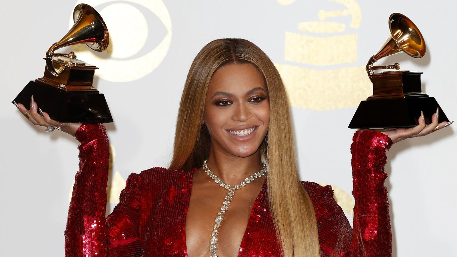 Todos querían que Beyoncé fuera su madre. La diva se marchó con dos galardones.