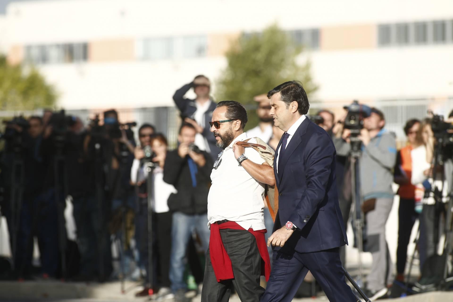 Álvaro Pérez, el Bigotes, antes de declarar por Gürtel.