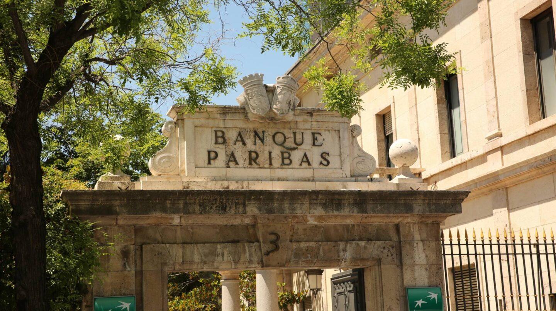 Sede de BNP Paribas en Madrid.