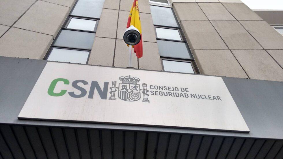 La sede del Consejo de Seguridad Nuclear en Madrid.