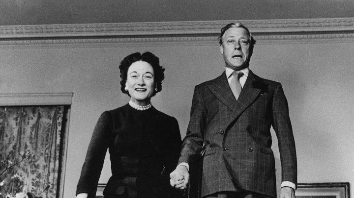 Portada de 'Conspiración en Madrid'. Eduardo VII y Wallis Simpson.