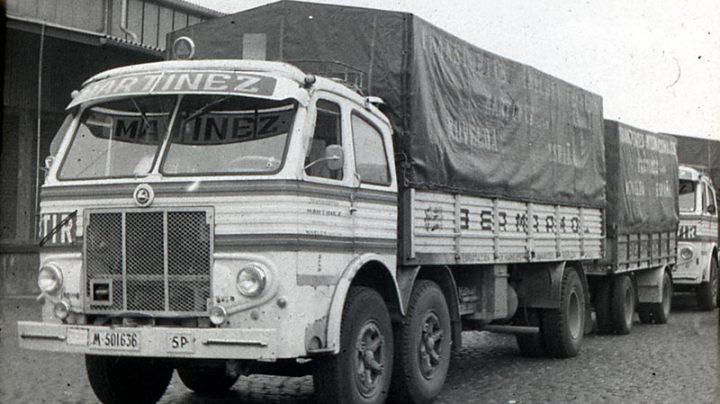 Antiguo camión Pegaso.
