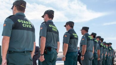 Un plan para 'absorber' 200 agentes de la Guardia Civil en Navarra