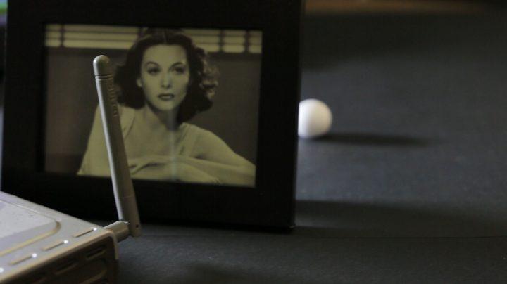 La actriz y científica Hedy Lamarr.
