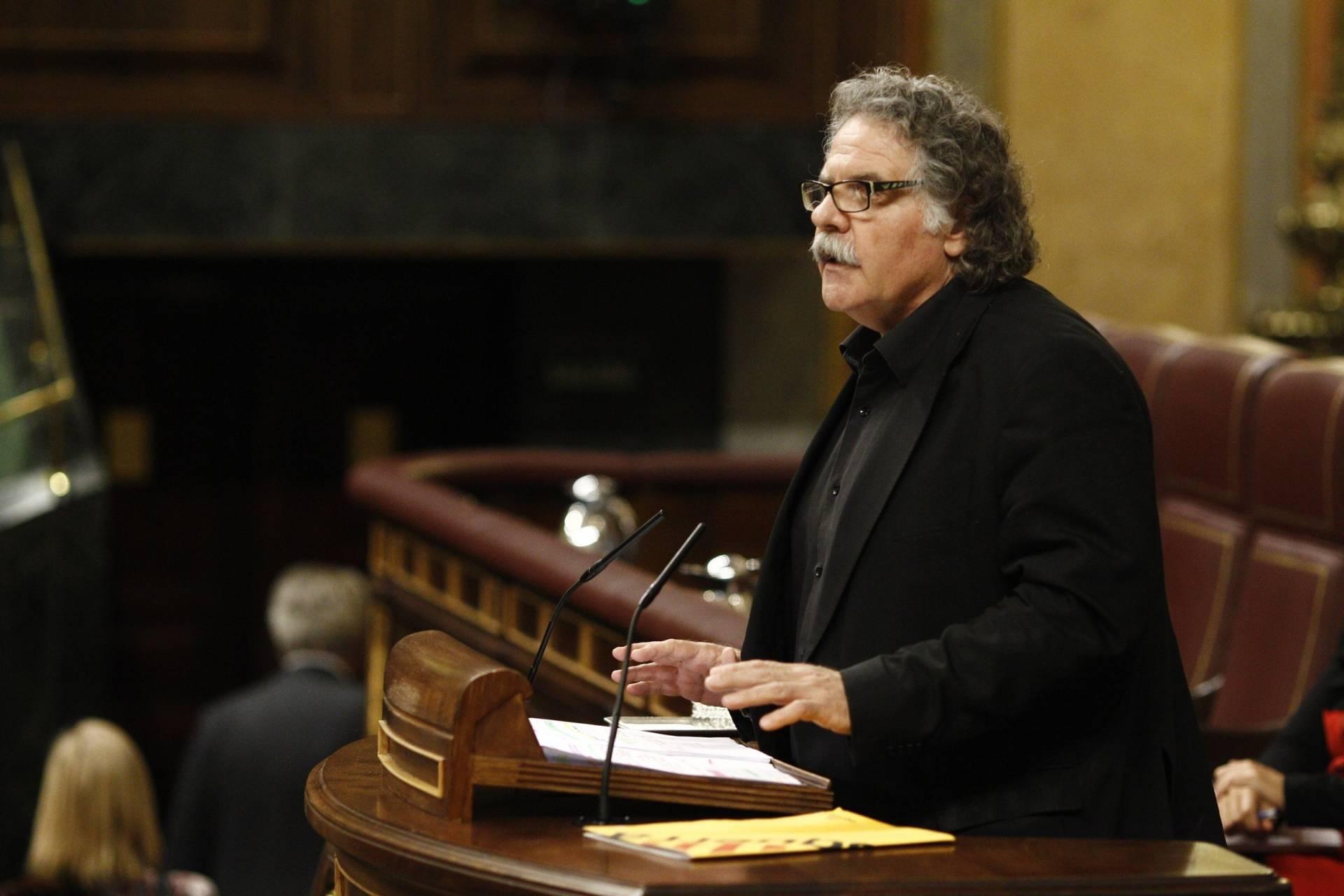 El diputado de ERC, Joan Tardá.