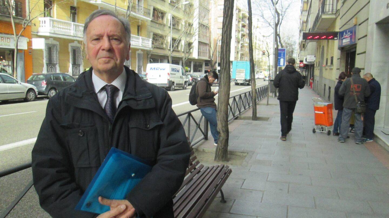 Miguel Bernad, secretario del colectivo de funcionarios Manos Limpias.