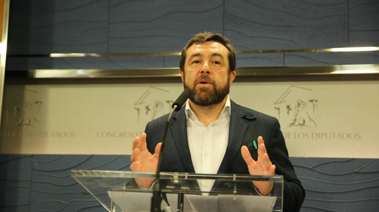 El diputado de Ciudadanos en el Congreso Miguel Gutiérrez.