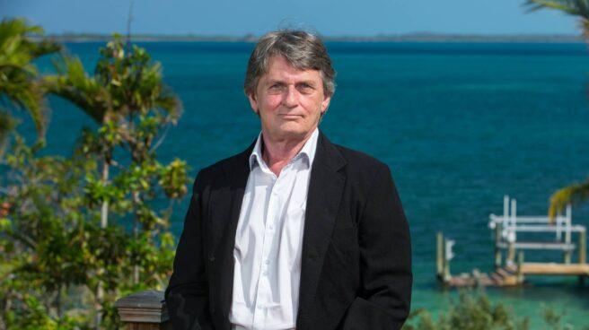 Mike Oldfield en Bahamas.