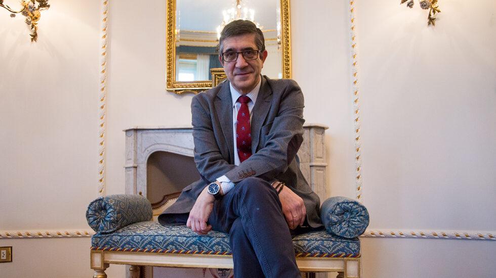 El es lehendakari Patxi López.