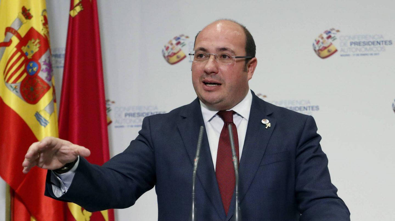 El presidente de Murcia, Pedro Antonio Sánchez, ha sido implicado en la 'Operación Púnica'
