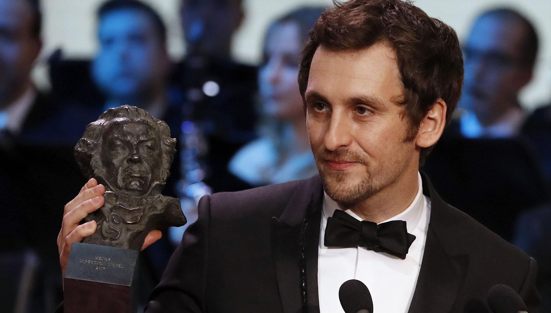 La academia reconoció a Raúl Arévalo su primer trabajo como director con el Goya a la Mejor dirección novel