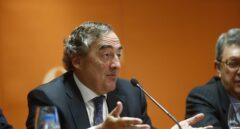 El presidente de CEOE, Juan Rosell, durante un acto público.