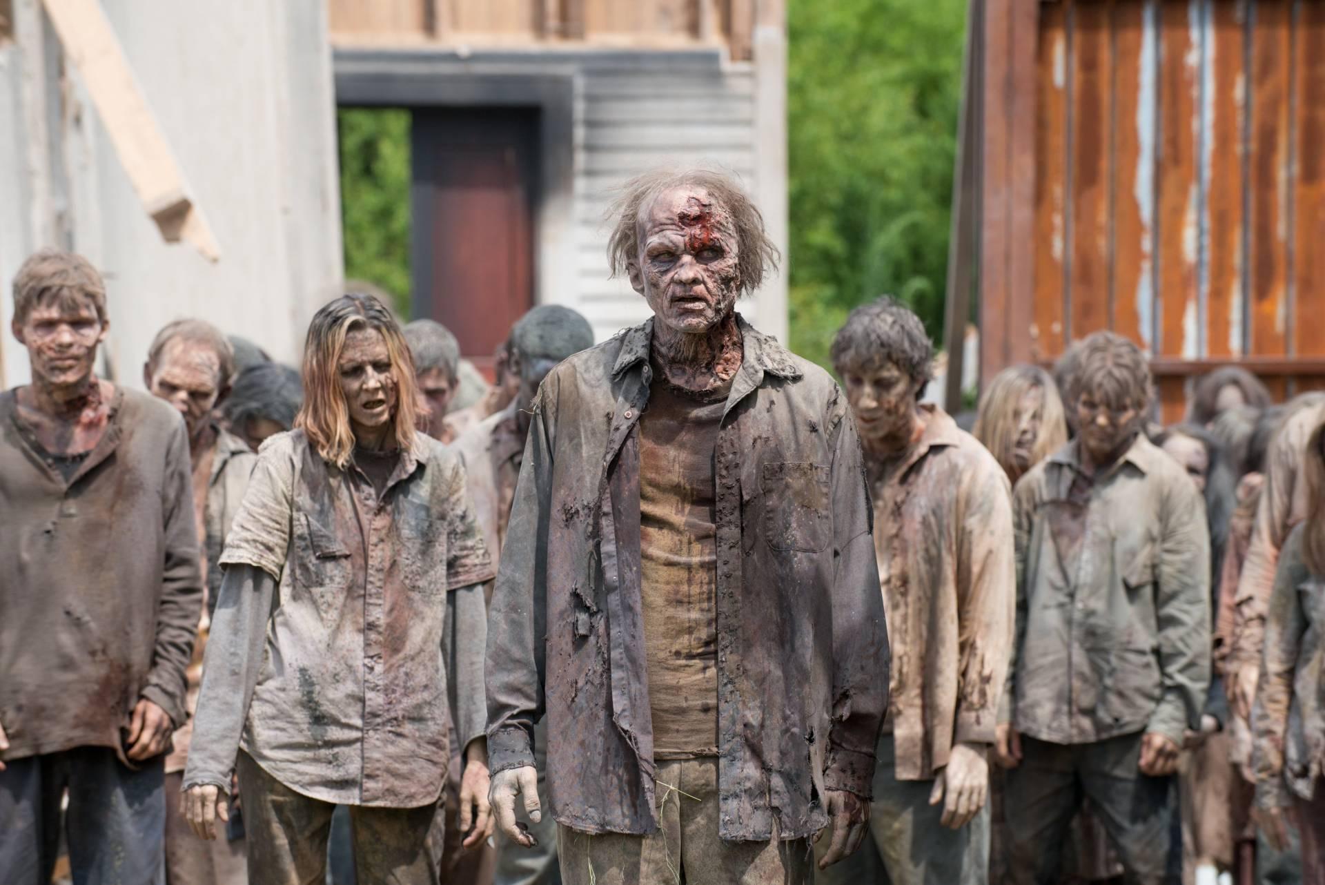 Zombies de The Walking Dead
