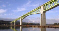 Viaducto sobre el río Ulla, un puente que ha sido premiado a nivel internacional.