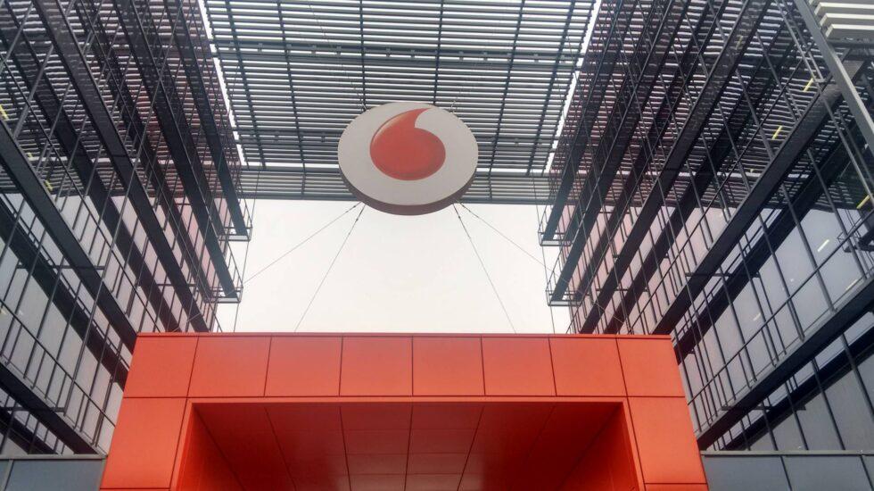 La sede de Vodafone España en Madrid.