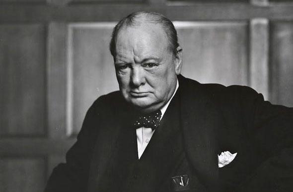 Winston Churchill en 1941
