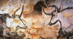 Pinturas rupestres de hace 20.000 años en las cuevas de Lascaux.