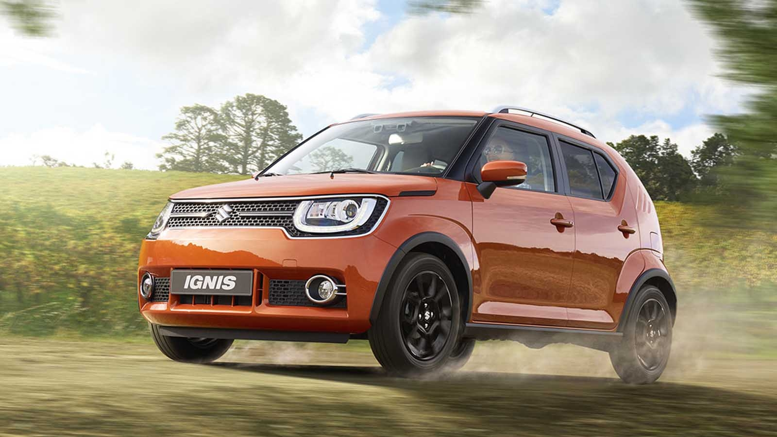 Suzuki ignis con ingredientes propios for Dimensiones fiat idea