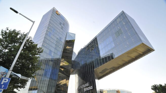 Sede de Gas Natural Fenosa en Barcelona.