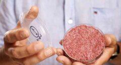 Hamburguesa de carne de laboratorio